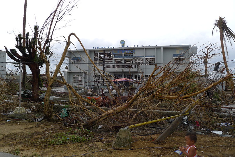 Guiuan after Typhoon Yolana