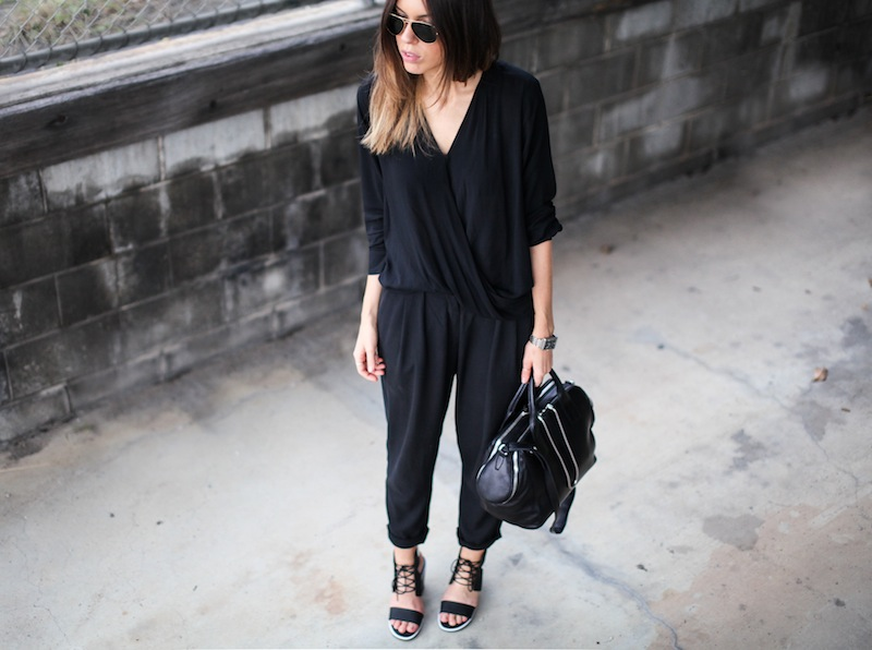 modern legacy fashion style blogger australia senso riley heels witchery wrap blouse zimmermann pants alexander wang chain tote bag armani watch (5 of 6)