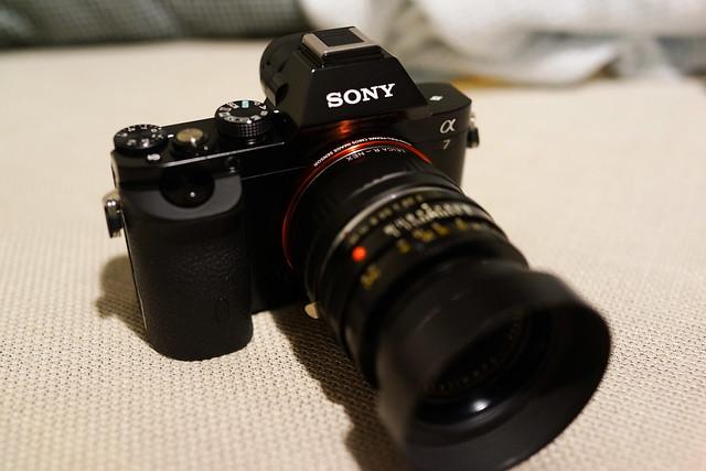 Sony A7 Leica-R 50/2