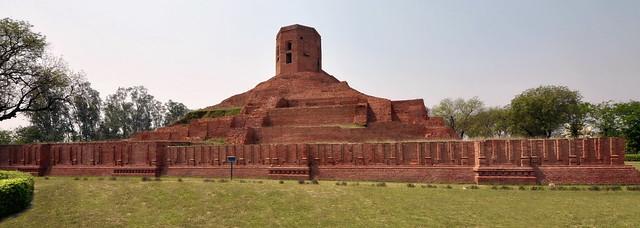 India - Sarnath - Chaukhandi Stupa - 7