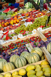 Arles Market fruits