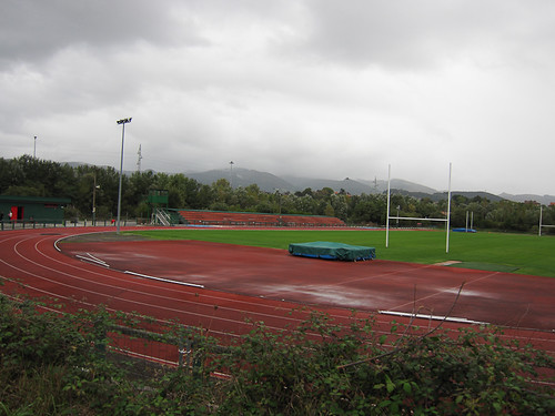 Pistas atletismo en el corazón del ZEC