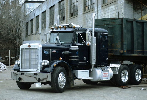 Beautiful Blue Peterbilt