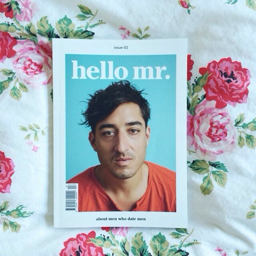 tip: the perfect gift for your gay guy friends: hello mr.