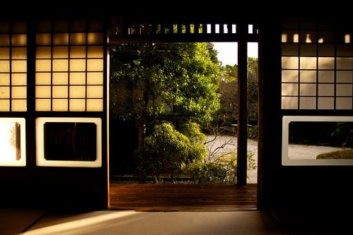 sunset japan nikon sigma tatami 365 52 kumamoto kyusyu kumamotocity paperdoor 52weeks project365 d7100 hosokawagyoubuhouse