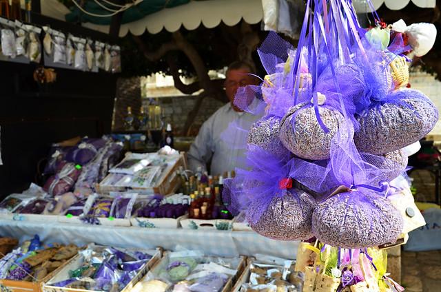 Lavender Stalls, Hvar, Croatia