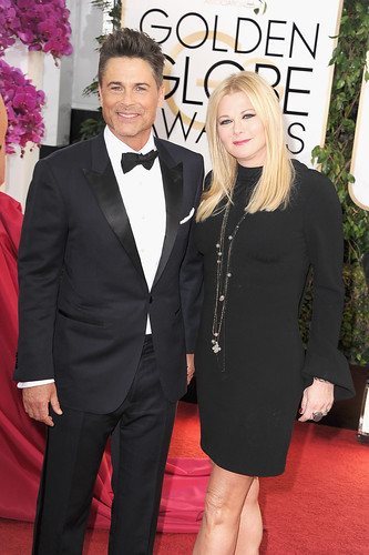 Rob-Lowe-Sheryl-Berkoff-attended-Golden-Globes