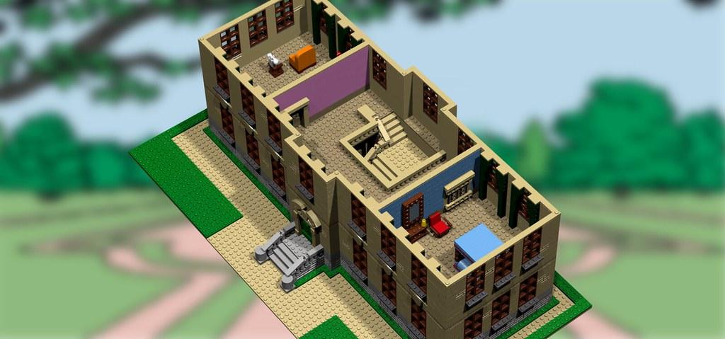 Moc Marlinspike Hall Special Lego Themes Eurobricks
