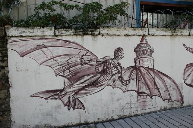 estambul mural