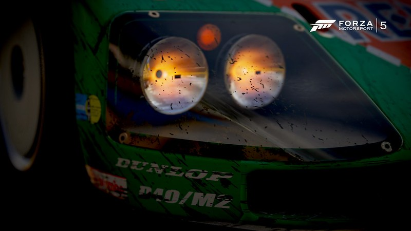 Mazda 787B Headlight Macro