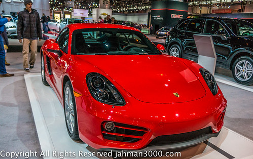 2014 Porsche Cayman at the 2014 Chicago Auto Show by alfred.muirhead