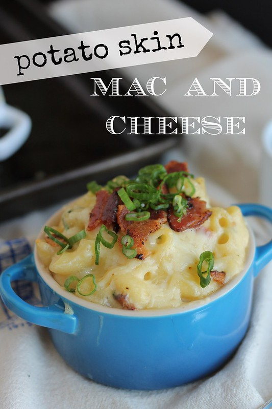 12580078795 68ec519364 c Potato Skin Mac and Cheese