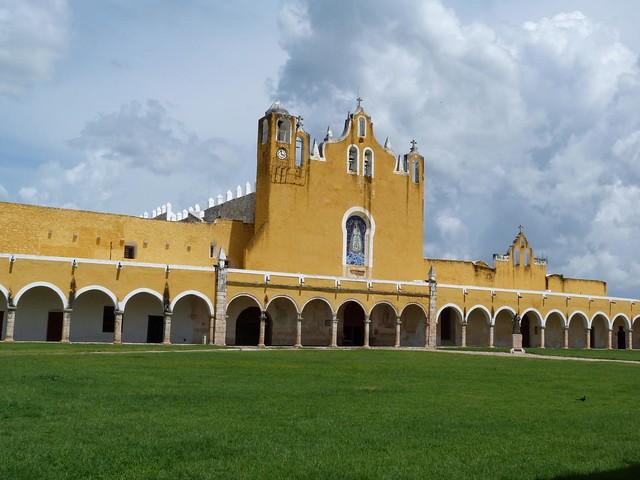 Ex Convento de San Antonio de Padua en Izamal (Yucatán, México)
