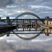 0380 - England, Newcastle, Bridges over the Tyne HDR by Barry Mangham