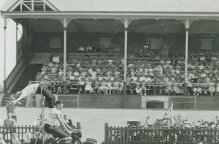 City of Port Adelaide 1856 - 1956 Centenary Celebrations - Childrens procession and parade at Alberton Oval.
