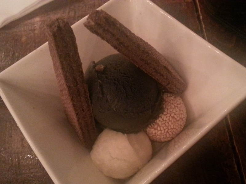 Sesame dessert at Guu