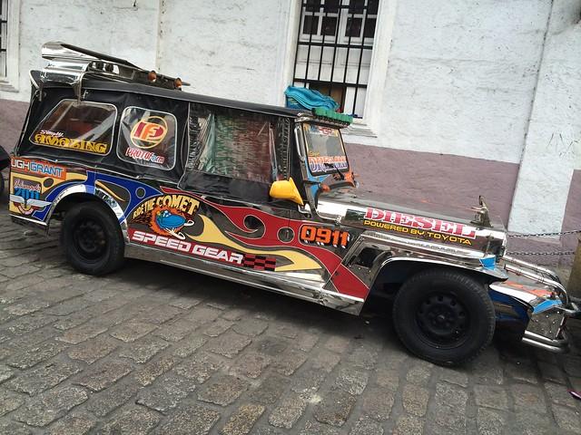 Fancy jeepney