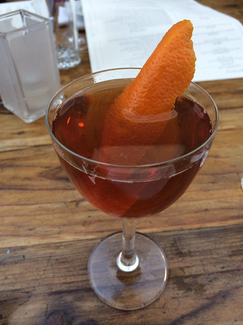 Saratoga cocktail - Foreign Cinema