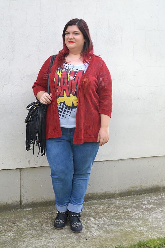 outfit jeans e bordeaux10