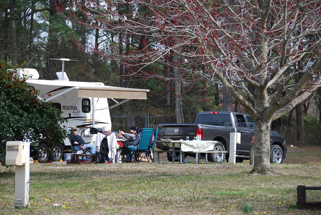 Family fun at a Virginia State Park - there are 1700 campsites at 24 Virginia State Parks