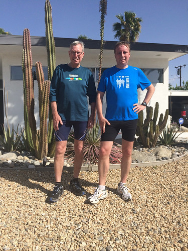After a 22 km run in Palm Springs
