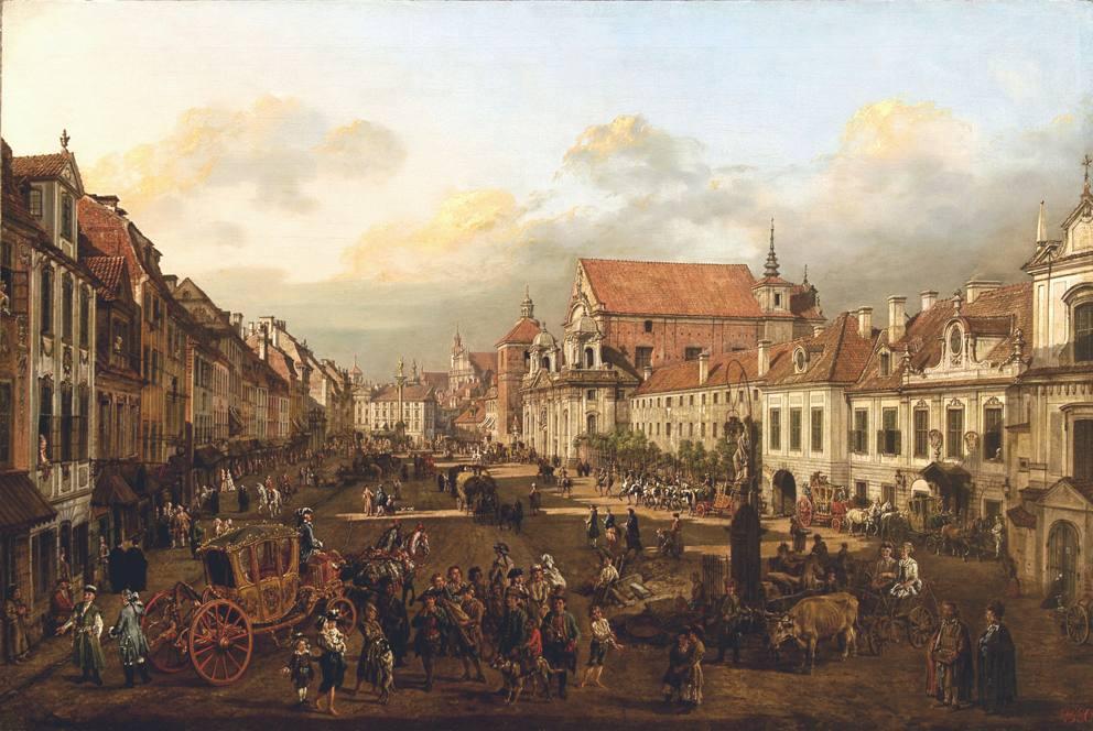十八世纪华沙风景画1
