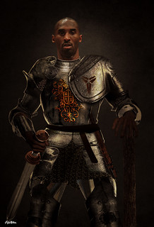 Knight Kobe Bryant Art by Alijah Villian