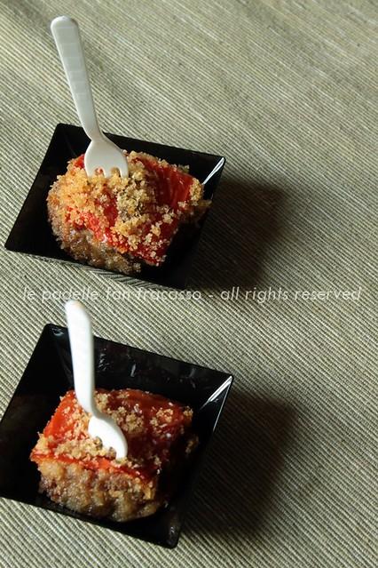 bocconcini di carne ai peperoni
