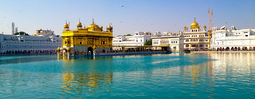 The Golden Temple , Amritsar, India