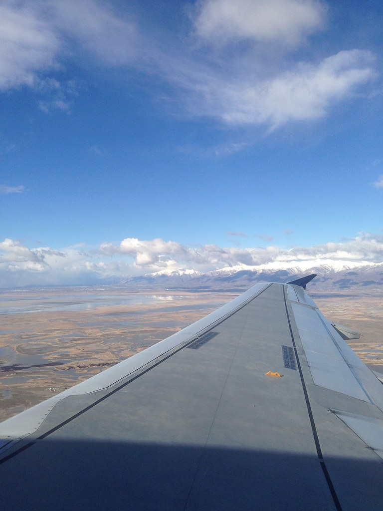 View on take-off from SLC