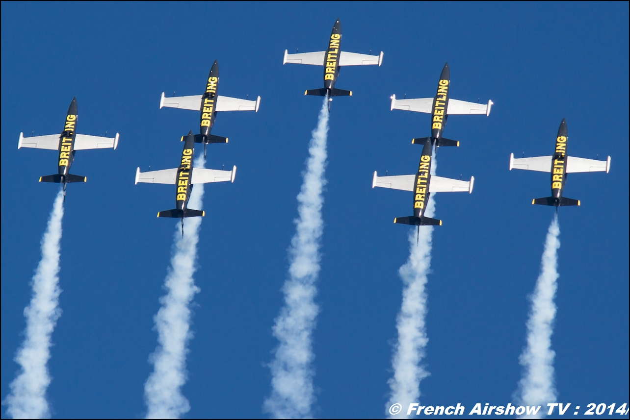 Breitling Jet Team , MEETING AERIEN Til-Chatel 2014