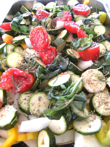 Briam - Baked vegetable medley