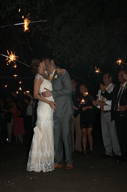 Katie and Ben's wedding