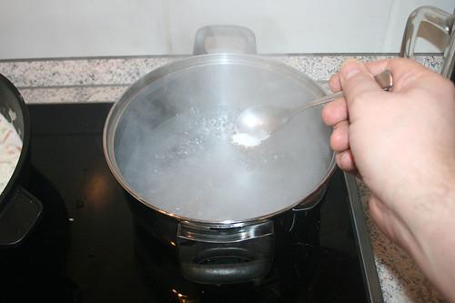 39 - Wasser salzen / Salt water