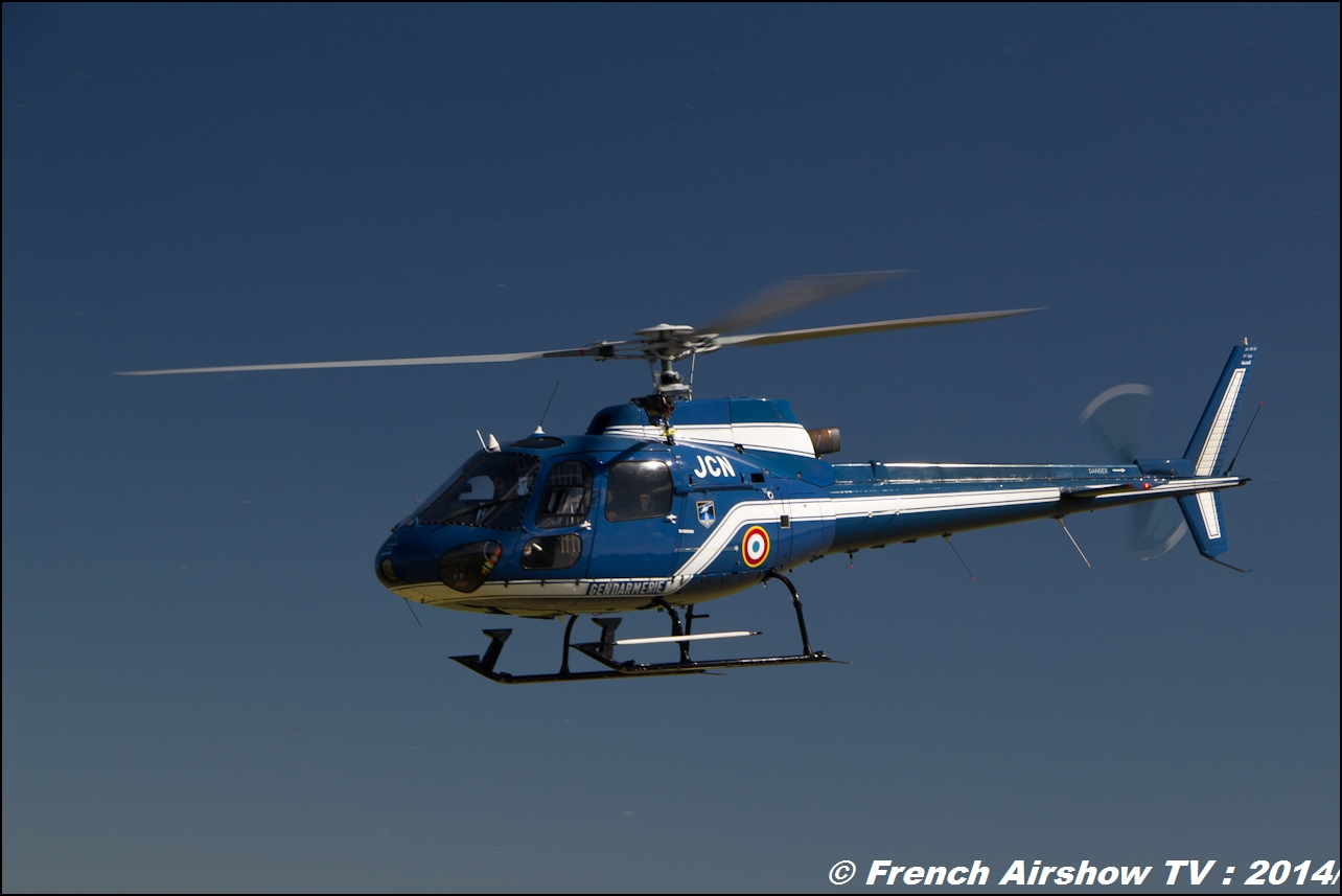 Ecureuil AS 350 Gendarmerie, Meeting Aerien Til Chatel 2014