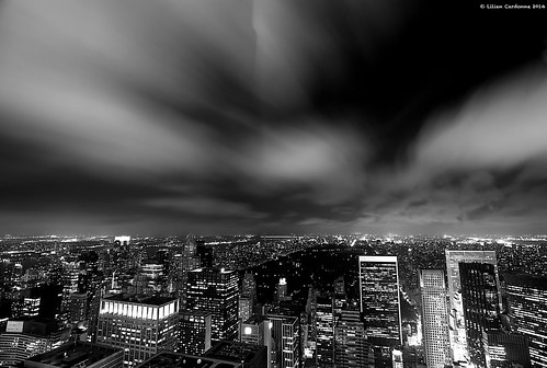 Dark Night From The Top Of The Rock