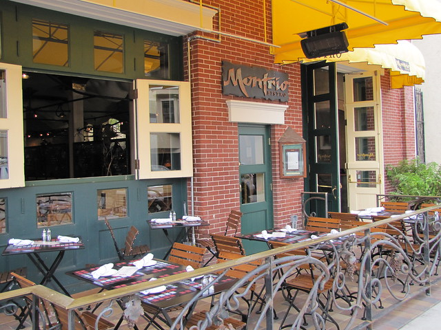 Outdoor Patio at Montrio Bistro
