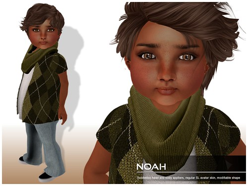 Deluxe Body Factory - Noah skin Toddleedoo baby boy
