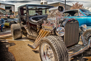 1927 Ford Coupe Hot Rod