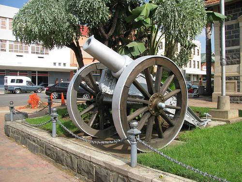 ladysmith kwazulunatal southafrica zaf canon battle