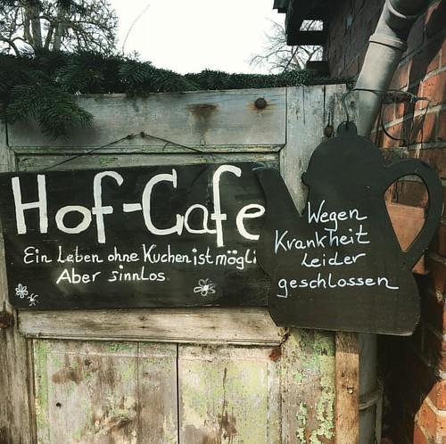 So sad! #cafe #geschlossen