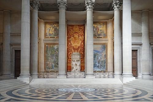 À la mémoire des artistes dont le nom s'est perdu (Panthéon, Paris)