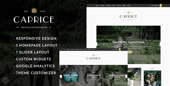 Caprice WordPress Theme free download