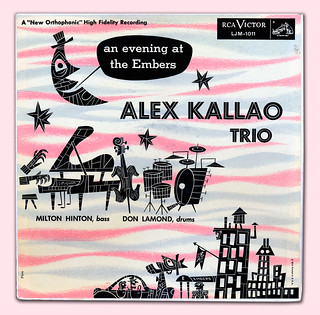 Alex Kallao Trio at the Embers 1954