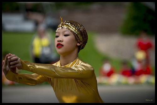 Chinese Culture Days at the Missouri Botanical Garden - Dancer