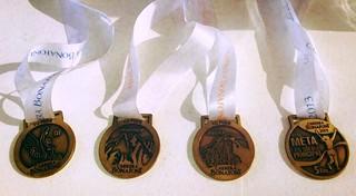 Carrera Bonafont 2013 - Medallas