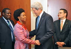 Secretary Kerry Meets With South African Foreign Minister Nkoana-Mashabane