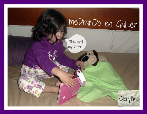 Antía & Patch storytime