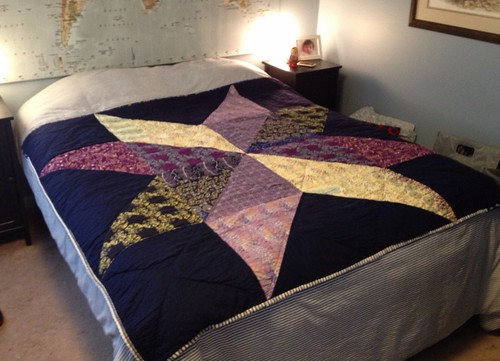 Giant Star quilt--top