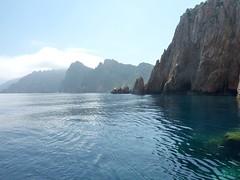 Capu Rossu : la côte vers Piana